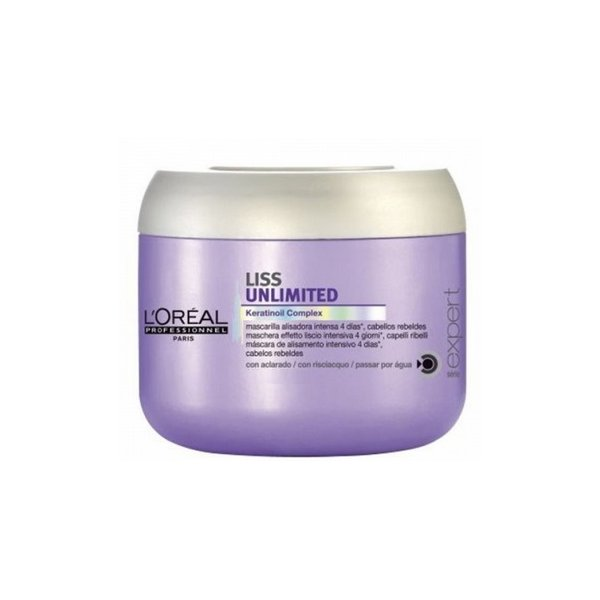 Loreal Expert Mascarilla 500ml Liss Unlimited